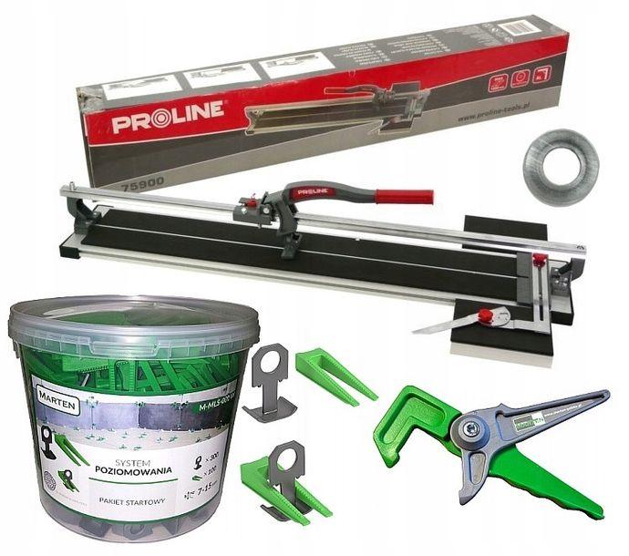 Zdjęcie produktu PROLINE Maszynka do cięcia glazury 1000mm +300/100