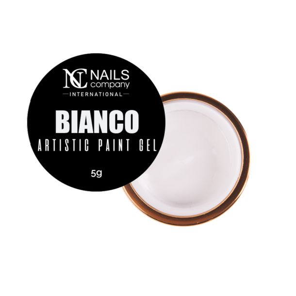 Zdjęcie produktu Nails Company Artistic Paint Gel - Bianco