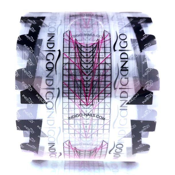 Zdjęcie produktu Indigo Formy Transparentne Do Przedłużania - 100 Sztuk
