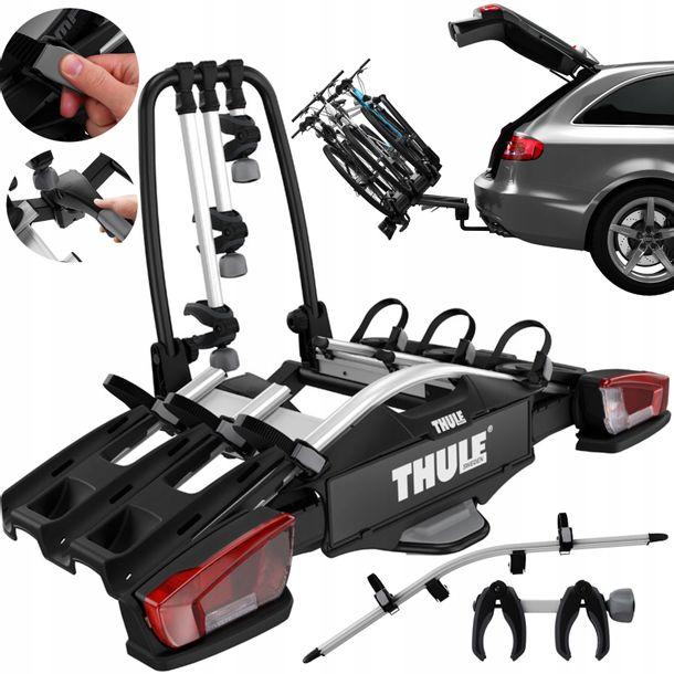 Zdjęcie produktu Thule VeloCompact 926 + adpater 4 rowery Bagażnik rowerowy