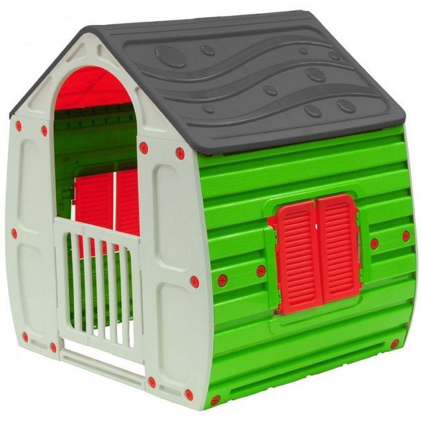 Zdjęcie produktu Ogrodowy domek dla dzieci Toys Mag Szary ENERO