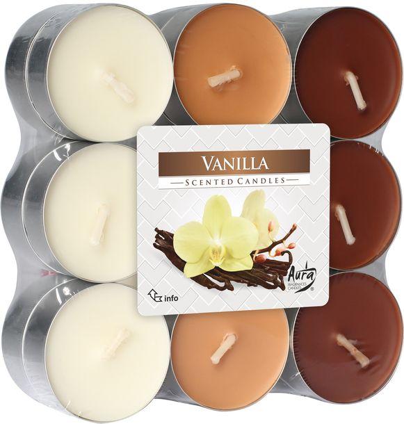 Zdjęcie produktu Podgrzewacze zapachowe BISPOL 4H WANILIA 18szt.