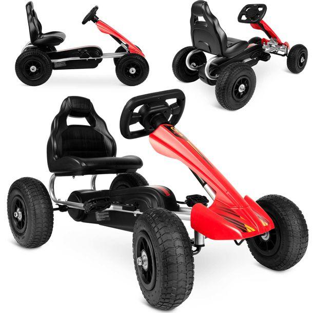 gokart-dzieciecy-na-pedaly-rk-591-czerwony