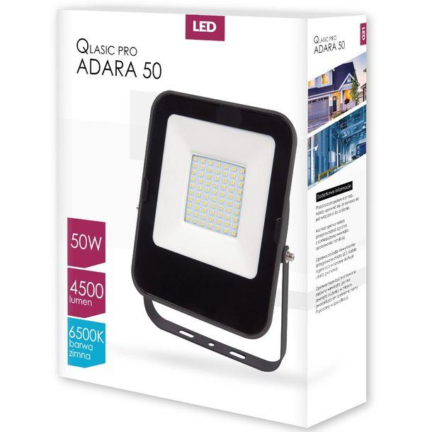 Zdjęcie produktu Naświetlacz LED QLASIC PRO ADARA 50W 6500K IP65 ZIMNY
