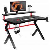 biurko-gamingowe-komputerowe-dla-graczy-huzaro-5-0-material-blatu-drewno
