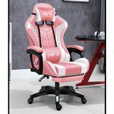 fotel-gamingowy-pro-gracza-obrotowy-rozowy-masaz-gratis-stan-nowy-waga-z-opakowaniem-16-kg