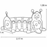 feber-tunel-dla-dzieci-gasienica-178-cm-modulowy-plac-zabaw-waga-z-opakowaniem-20-8-kg