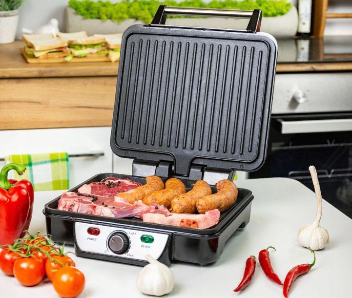 Zdjęcie produktu Grill elektryczny składany First Austria 1800W