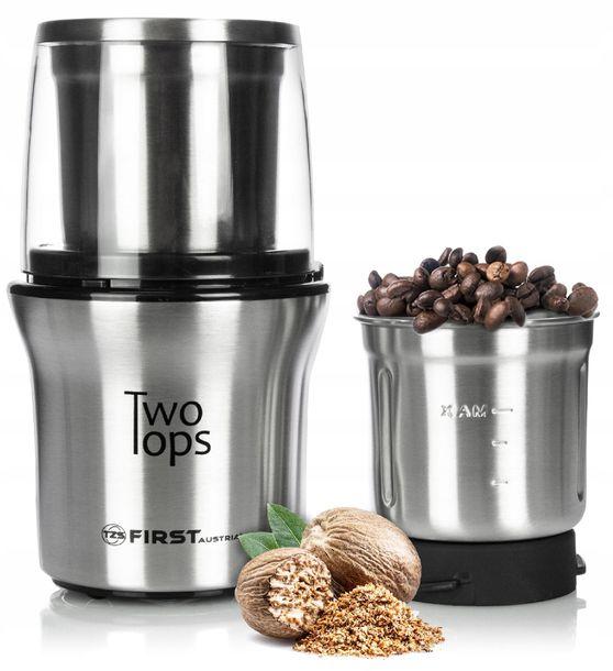 Zdjęcie produktu Młynek do kawy i rozdrabniacz 2w1 FIRST AUSTRIA