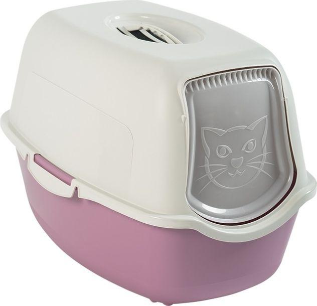 Zdjęcie produktu Kuweta toaleta dla kota BAILEY różowa ROTHO