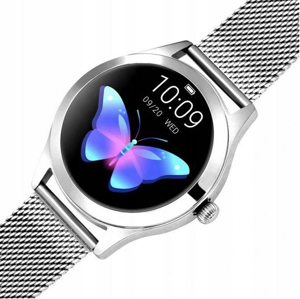 Zdjęcie produktu Smartwatch damski KW10 TFT KROKI PULS IPX67 CYKL