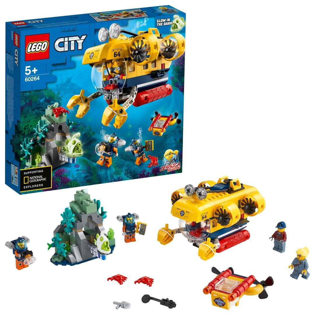 LEGO City - Łódź podwodna badaczy oceanu 60264 City