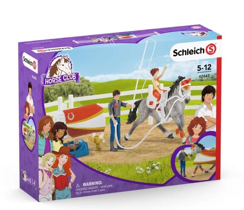 SCHLEICH Horse Club, zestaw do woltyżerki Mii 42443