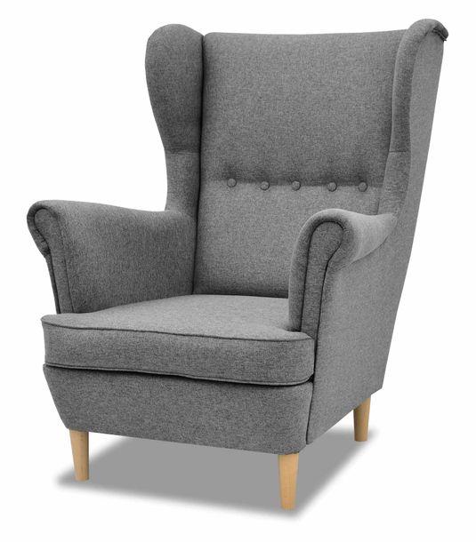 Zdjęcie produktu Fotel Uszak fotel w stylu skandynawskim Denver
