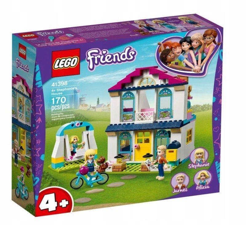 KLOCKI LEGO FRIENDS ZESTAW DOM STEPHANIE 41398
