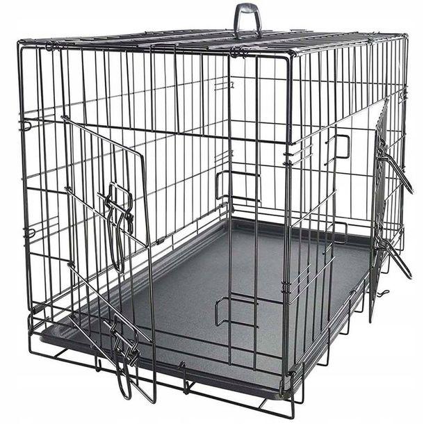 Zdjęcie produktu Duża Klatka Metalowa Kojec Dla Psów Psa Kota