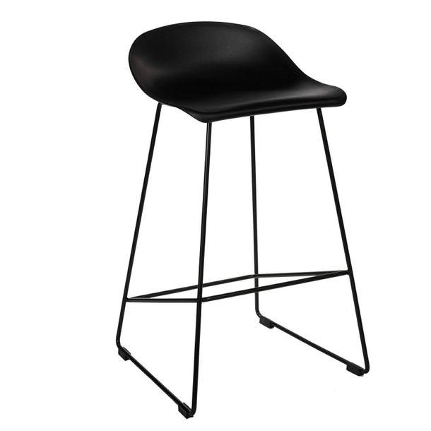 Zdjęcie produktu Krzesło barowe Molly czarne Low
