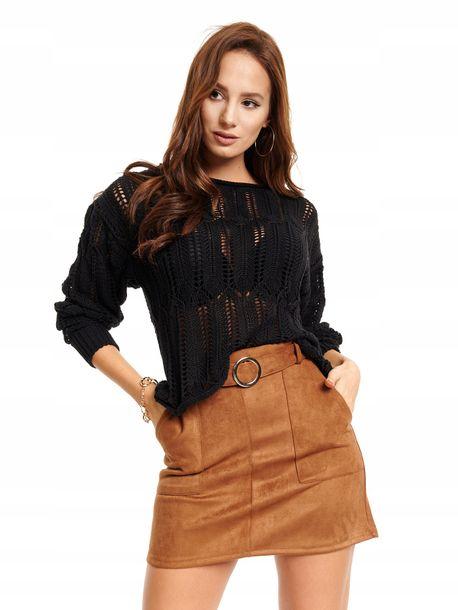 Zdjęcie produktu Sweter damski ażurowy Swan ROVICKY one size