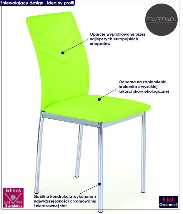 Krzesło Como 44cm x 97cm x 51cm 30641 – sklep BRW