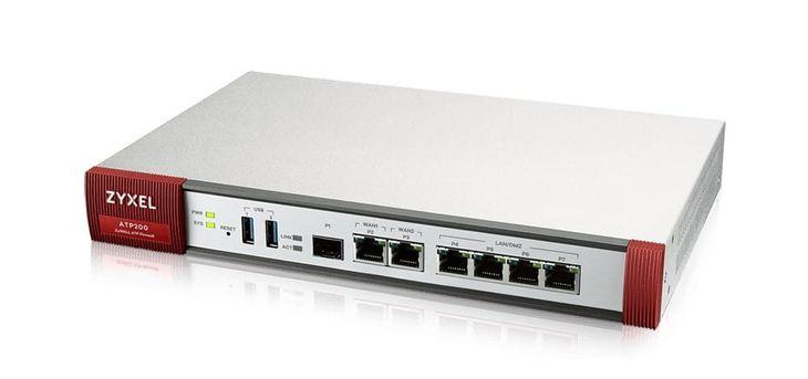 Zdjęcie produktu Zyxel ATP Firewall 10/100/1000 2xWAN 4xLAN/DMZ 1xSFP 2xUSB 1YR Bundle  ATP2