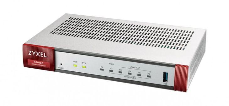 Zdjęcie produktu Zyxel Firewall ZyWall ATP100-EU0102F 2xWAN 4xLAN 1xSFP 1Y Bundle