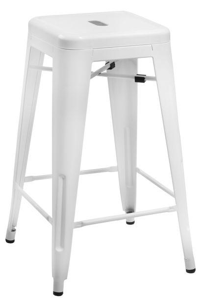 Zdjęcie produktu Hoker Paris 75cm. biały insp. Tolix