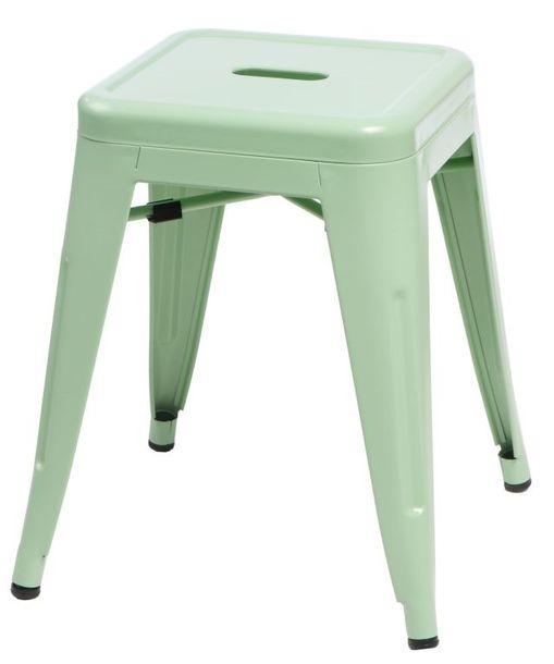 Zdjęcie produktu Stołek Paris zielony inspirowany Tolix