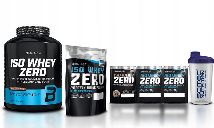 Zdjęcie produktu Biotech USA ISO WHEY ZERO 2270g + 500g ZERO+GRATIS