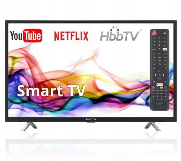Zdjęcie produktu Telewizor Manta 32LHS89T 32'' SmartTV LED HDMI USB