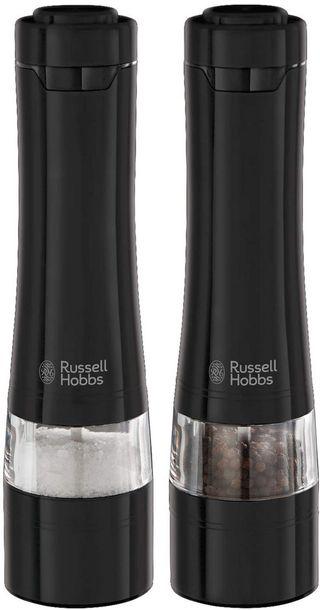 Zdjęcie produktu RUSSELL HOBBS MŁYNEK DO SOLI I PIEPRZU 28010-56 CZARNY