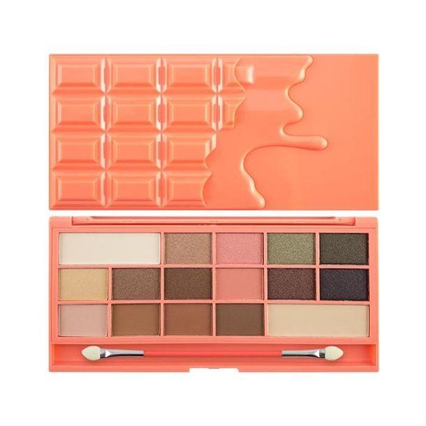 Zdjęcie produktu I HEART MAKE UP Chocolate and Peaches 22g - paleta cieni