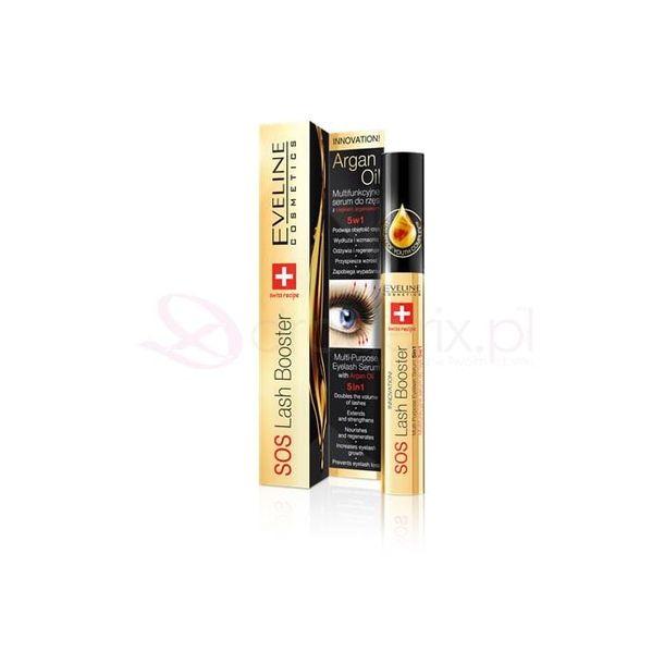 Zdjęcie produktu EVELINE Sos Lash Booster 5w1 10ml - multifunkcyjne serum do rzes