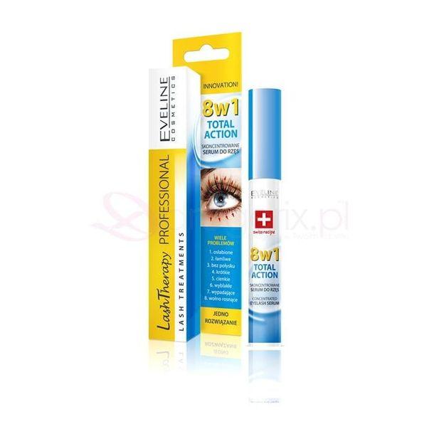 Zdjęcie produktu EVELINE Lash Therapy 8w1 10ml - skoncentrowane serum do rzes