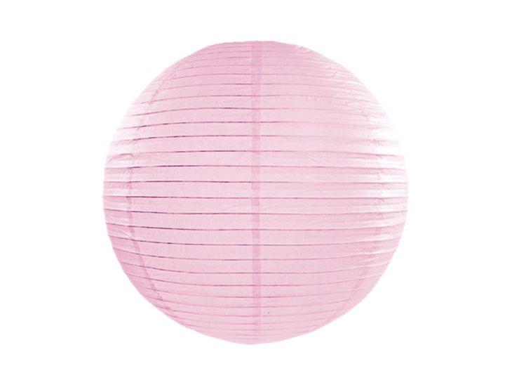 Zdjęcie produktu Lampion papierowy, j. różowy, 25cm