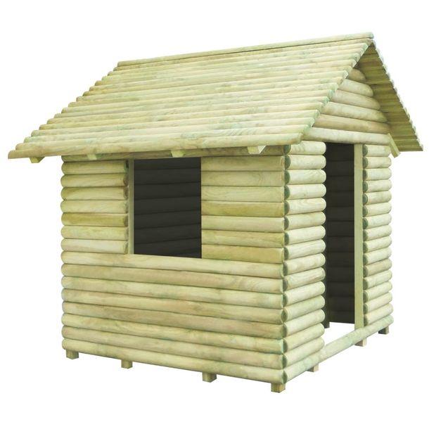 Zdjęcie produktu Domek dla dzieci, impregnowane drewno sosnowe, 167x150x151 cm