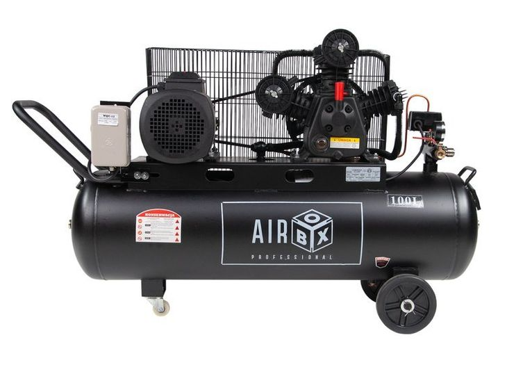 Zdjęcie produktu Airbox PRO100F Sprężarka Olejowa Kompresor 100L 560l/min 12,5 BAR
