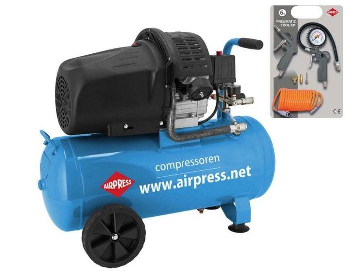 Zdjęcie produktu Airpress HL 425-50 Sprężarka Olejowa Kompresor Tłokowy 8Bar 50L 400L/min 2,