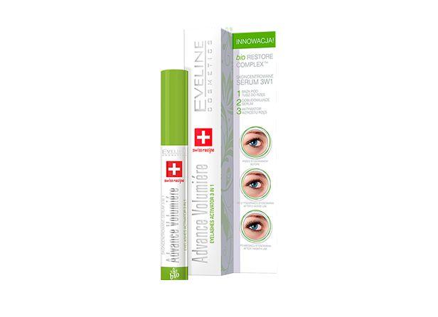 Zdjęcie produktu EVELINE Advance Volumiere 3w1 10ml - skoncentrowane serum do rzes