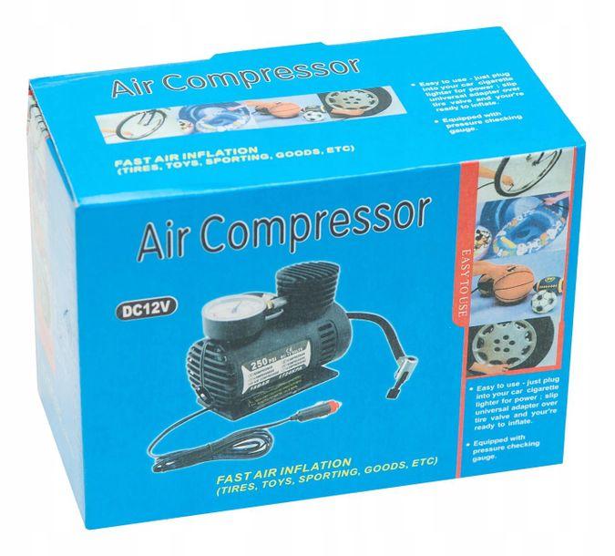 Zdjęcie produktu Kompresor, mini sprężarka samochodowa 12v