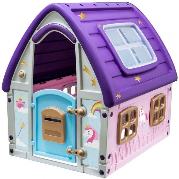 Zdjęcie produktu Ogrodowy Domek Dla Dzieci Enero Toys Jednorożec 123X102X121Cm
