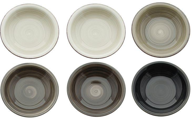 Zdjęcie produktu TALERZE DO ZUPY GŁĘBOKIE 21 cm ZESTAW DLA 6 OSÓB