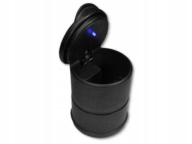 Zdjęcie produktu Popielniczka samochodowa LED podświetlana