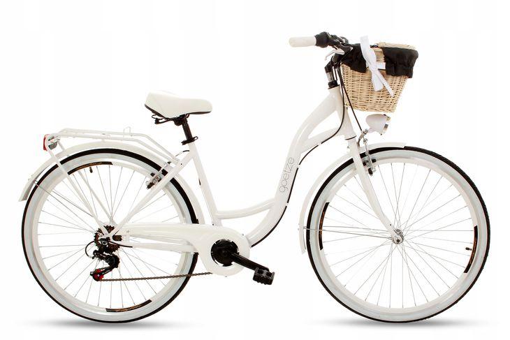 Zdjęcie produktu Rower miejski GOETZE Mood 28 biały 7 bieg Shimano