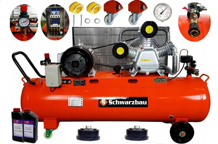 Zdjęcie produktu KOMPRESOR 13 BAR 200L 3T 400V powietrza olejowy